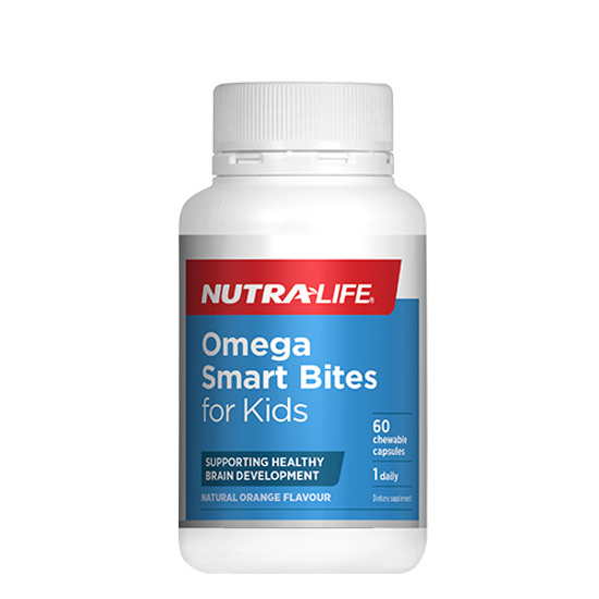 Nutralife Omega Smart Bites for Kids 60 caps