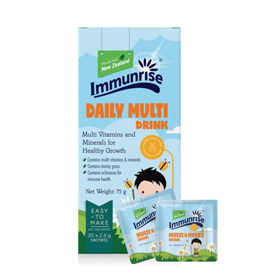 Immunrise Kids Milti Drink 30 sachet packs