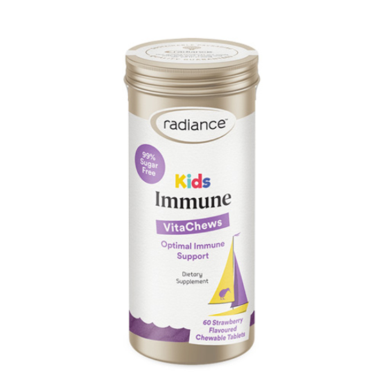 Radiance Kids Immune Vitamins A,C,E + Olive 60tabs