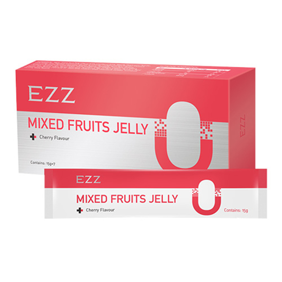 EZZ Mixed Fruits Jelly 15g x 7