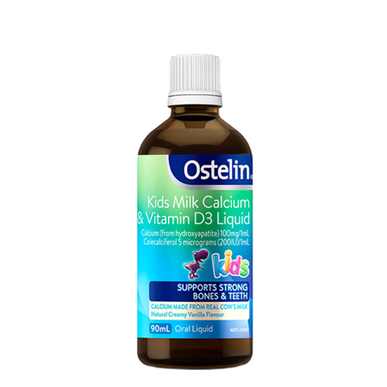 Ostelin kids Milk calcium& Vitamin D3 liquid 90ml