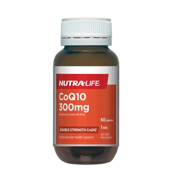 Nutralife Co Q10 300mg Double Strength CoQ10 60 caps