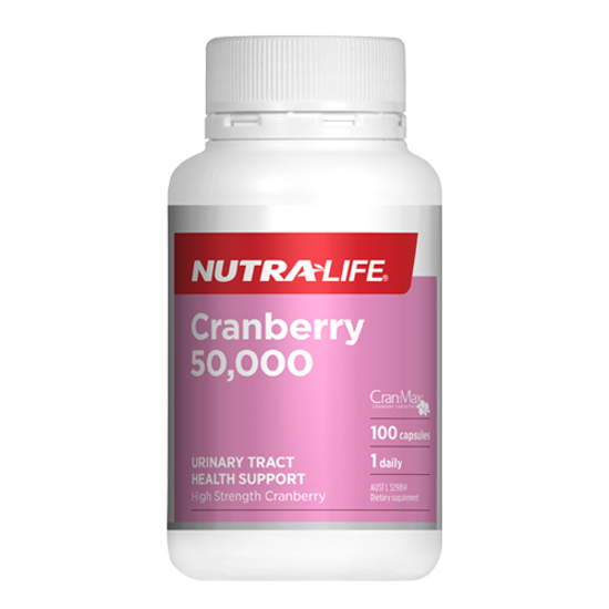 Nutralife Cranberry 50,000 Caps 100s
