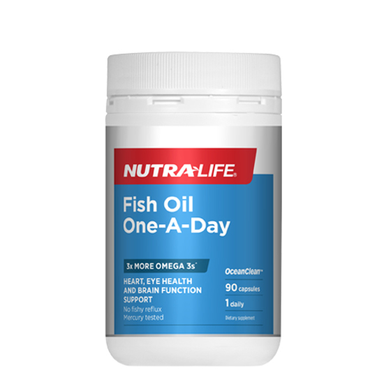 Nutralife Fish Oil One-A-Day 90caps