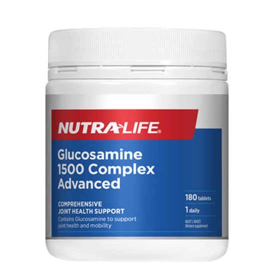 Nutralife Glucosamine 1500 Complex ADVANCED Tabs 180s