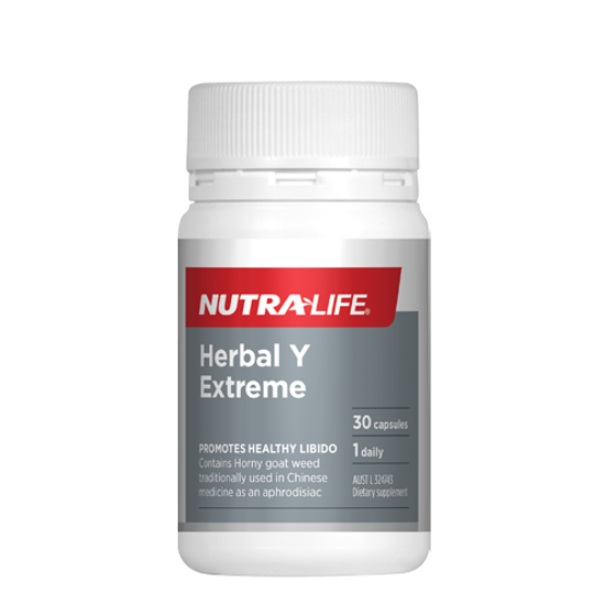 Nutralife Herbal Y Extreme Caps 30s
