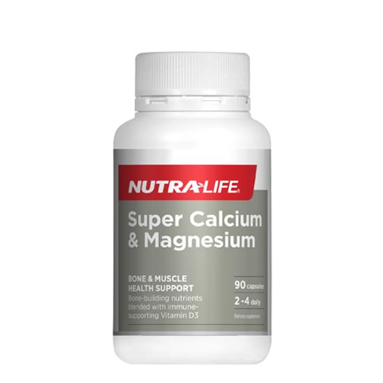 Nutralife Super Calcium & Magnesium 90 caps