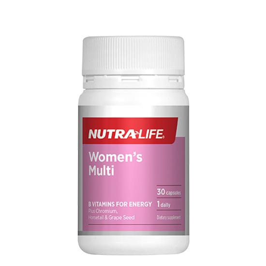 Nutra-life Women's Multi 30 caps