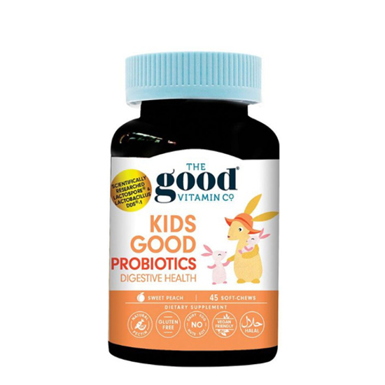 The Good Vitamin Co Kids Good Probiotics 45 soft-chews