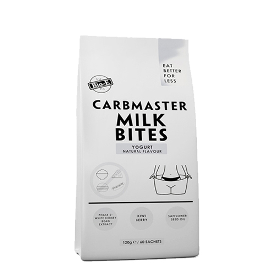 Bio-E Carbmaster Milk Bites Yogurt Natural Flavour 120g/60 sachets