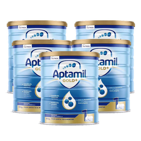 Aptamil Gold Stage 1 (0-6 months) 900g x 6