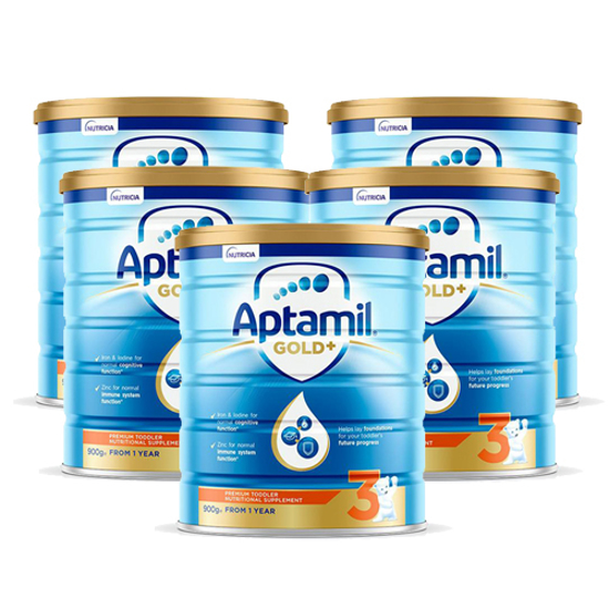 Aptamil Gold Stage 3 (12-24 months) 900g x 6
