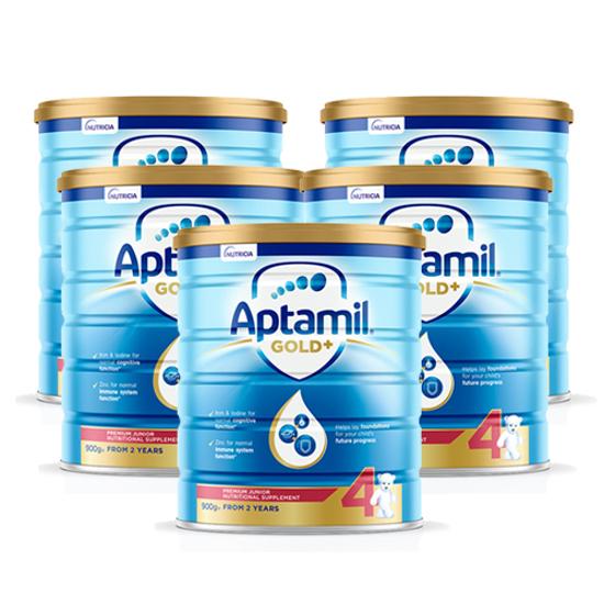 Aptamil Gold Stage 4 (24 months+) 900g x 6
