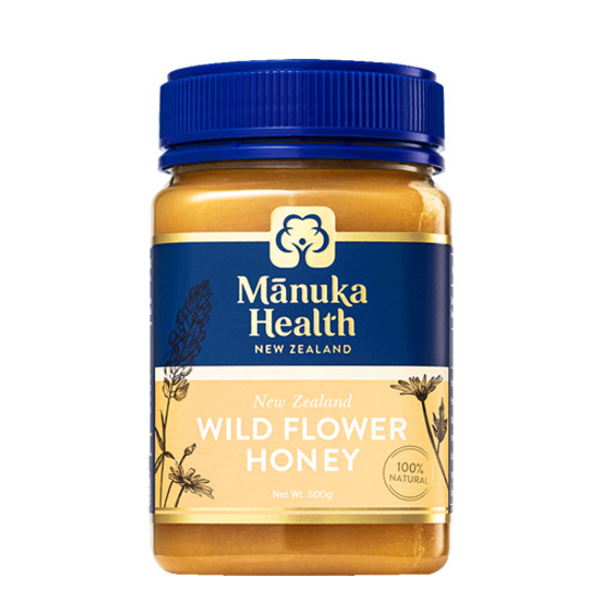 Manuka Health Wild Flower Honey 500g