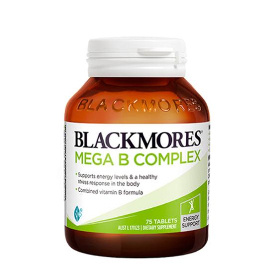 Blackmores Mega B Complex 75 tabs