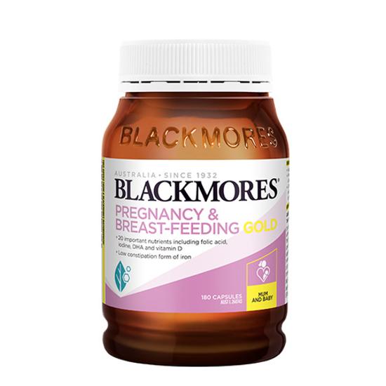 Blackmores Pregnancy & Breast-feeding Gold 180caps