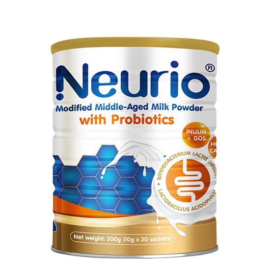 Neurio Formulated Middle-Aged Nutritional Powder 10g x 30 sachets