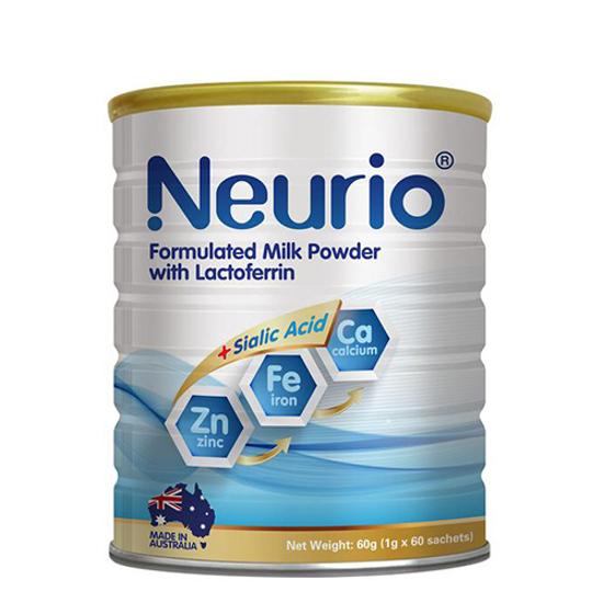 Neurio formulated milk power with lactoferrin + sialic acid 60g