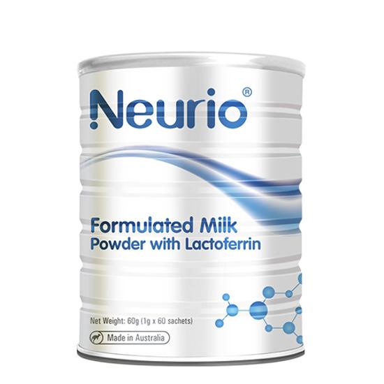 Neurio Milk Powder with Lactoferrin - White 1g x 60 sachets