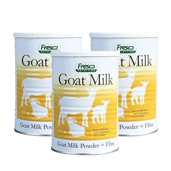 Fresco goat milk power+ fibre × 3