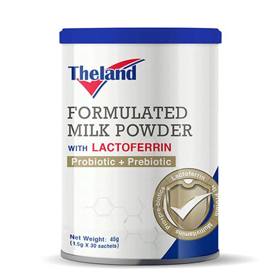 Theland formulated milk powder with lactoferrin probiotic + prebiotic 45g