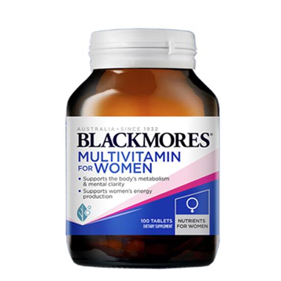 Blackmores Women's Vitality Multi 100 tabs