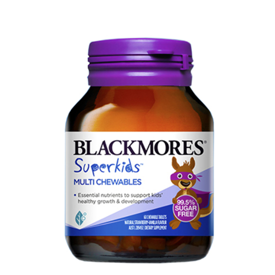 blackmores Superkids Multi Chewables 60 tabs