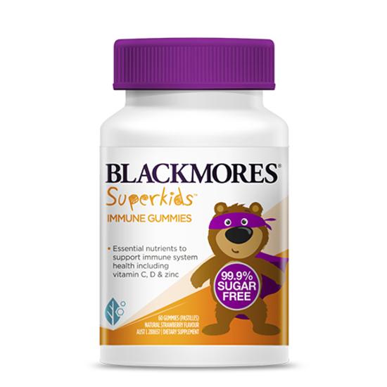 blackmores Superkids Immune Gummies 60 gummies