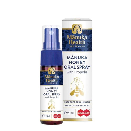 Manuka Health Propolis & MGO™ 400 Manuka Throat Spray 30ml
