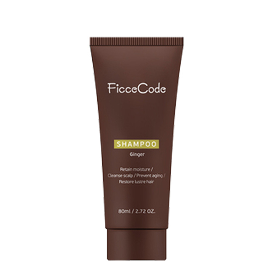 Ficcecode Ginger Shampoo 80ml