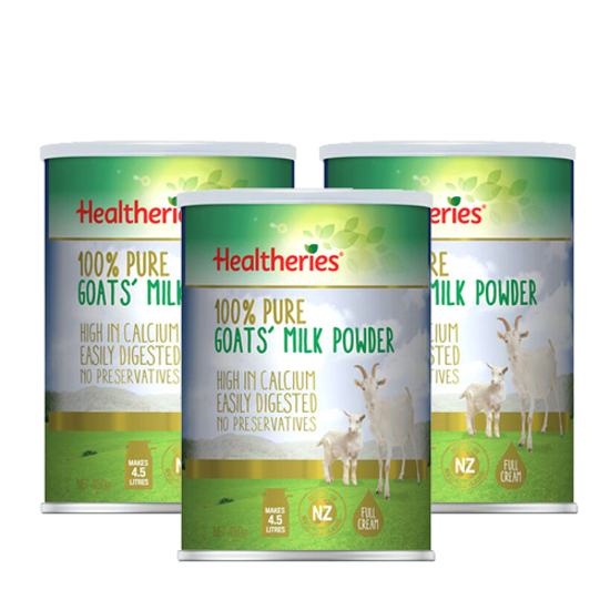 [FTD] Healtheries Goat Milk Powder 450g x 3 cans