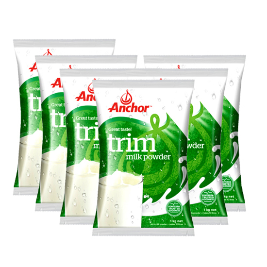 [FTD] Anchor Trim Milk Powder 1kg x 6