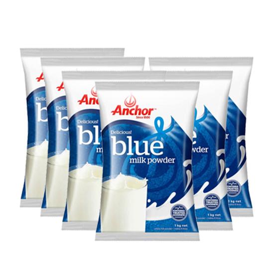 [FTD] Anchor Blue Milk Powder 1kg x 6