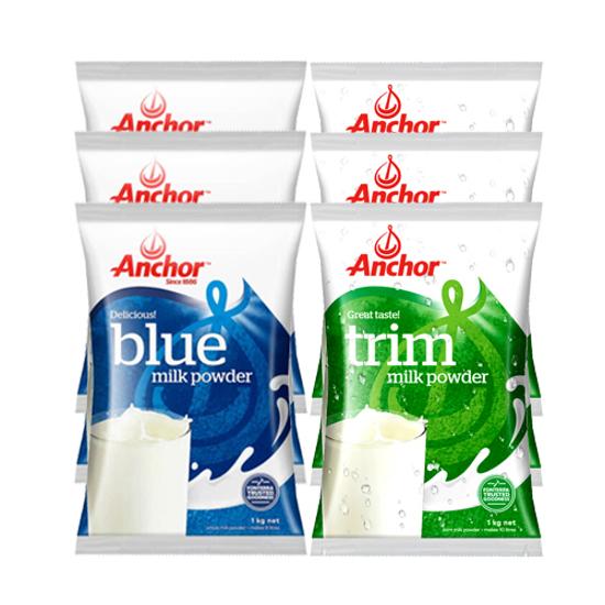 [FTD] Anchor Trim 1kg x 3, Blue 1kg x 3