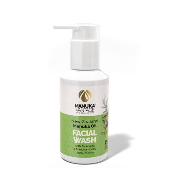 Parrs New Zealand Manuka Oil Facial Wash 120ml