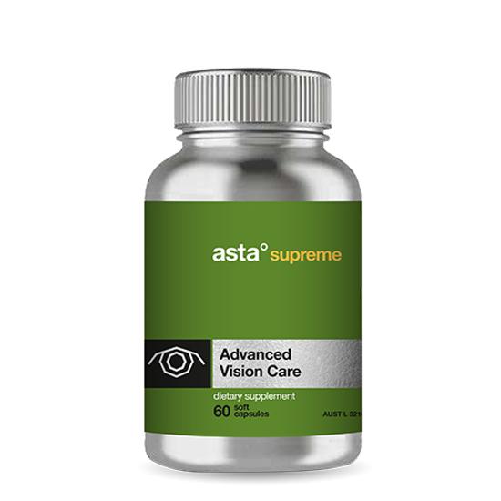 Asta Supreme Health Advanced Vision Care 60 caps
