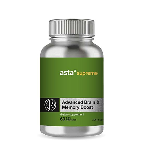 Asta Supreme Advanced Brain & Memory Boost 60 caps