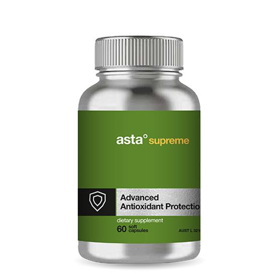 Asta Supreme Advanced Antioxidant pretection 60caps