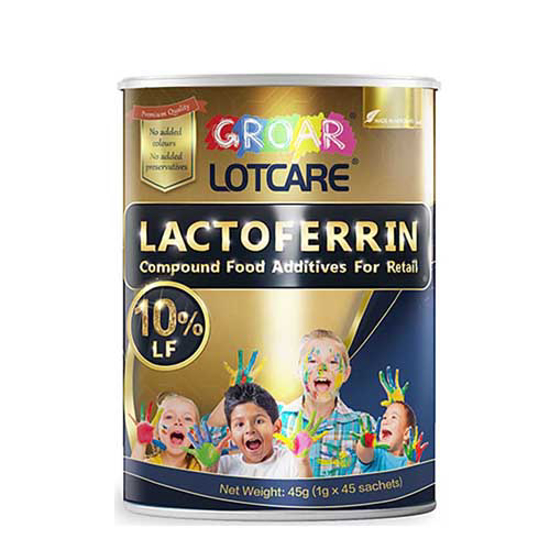 Triamour Groar  lactoferrin compound Food Additives for Reatil 10% 45g