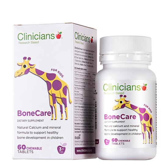 Clinicians Bone Care Kids 60 chewable tabs
