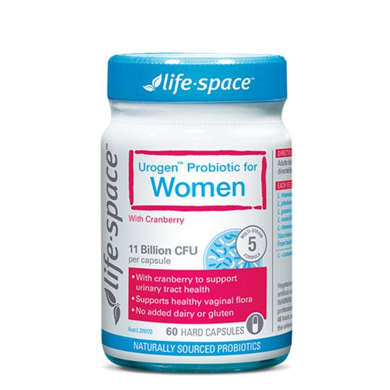 Life-space Women's Microflora Probiotic 60 caps