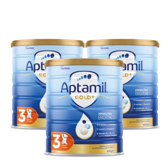 Aptamil Gold Stage 3 (12-24 months) 900g x 3