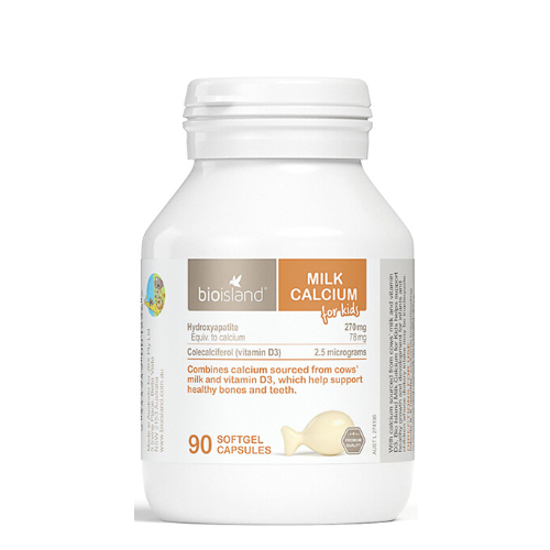 Bioisland Milk Calcium 90 caps