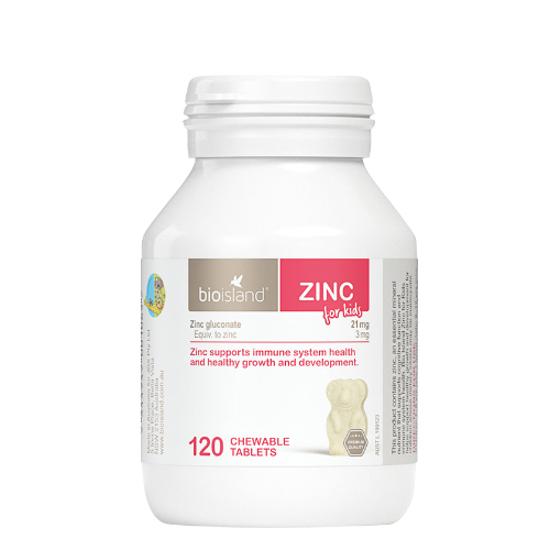 Bioisland Zinc for Kids 120caps